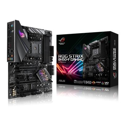 Asus ASUS ROG Strix B450-F Gaming ATX Mainboard Sockel AM4 M.2/USB3.1/HDMI/DP