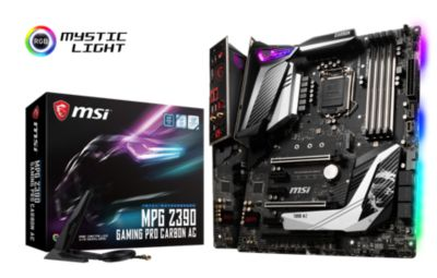 MSI MSI MPG Z390 Gaming Pro Carbon AC ATX Mainboard Sockel 1151