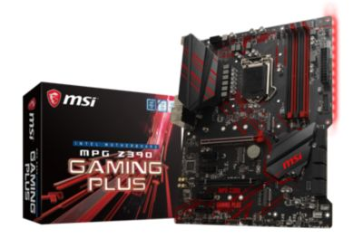 MSI MSI MPG Z390 Gaming Plus ATX Mainboard Sockel 1151