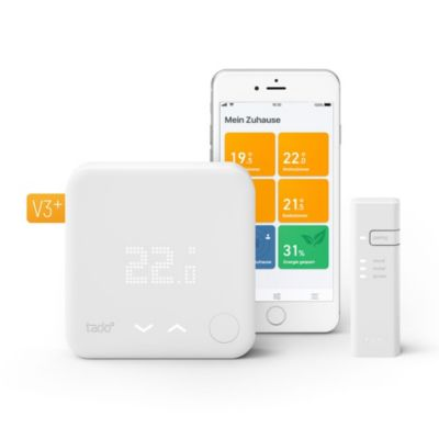 tado tado° Smart Thermostat - Starter Kit V3+ Inkl. 1 Bridge