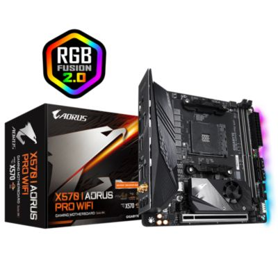Gigabyte Gigabyte X570 I AORUS PRO WIFI MINI-ITX Mainboard AM4 USB3.2/M.2/DP/HDMI/WiFI 6