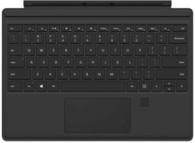 Microsoft Microsoft Surface Pro Fingerprint Type Cover Schwarz