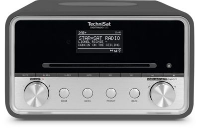 Technisat TechniSat DIGITRADIO 585 UKW/DAB+ WLAN CD Multiroom anthrazit