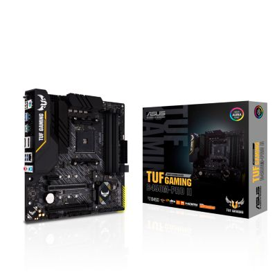 Asus ASUS TUF B450M-Pro Gaming II mATX Mainboard Sockel AM4 M.2/USB3.2/HDMI/DP