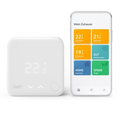 tado tado° Starter Kit - Smartes Wireless Thermostat V3+ Funk inkl. Bridge